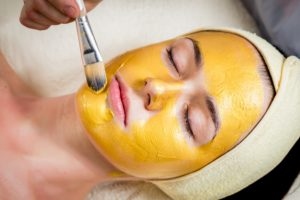 a Gold Mask Can Help Soothe Your Dry Skin